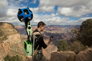 Google Street View in the Grand Canyon: Google Trekker